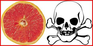 Pamplemousse + Médicaments = Danger