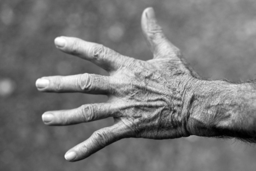 Vieillissement des mains