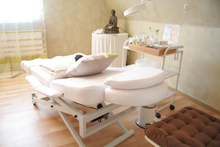 Salon esthétique soins anti-cellulite